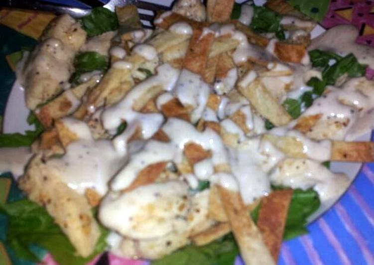 Easiest Way to Prepare Delicious Chicken Caesar Salad