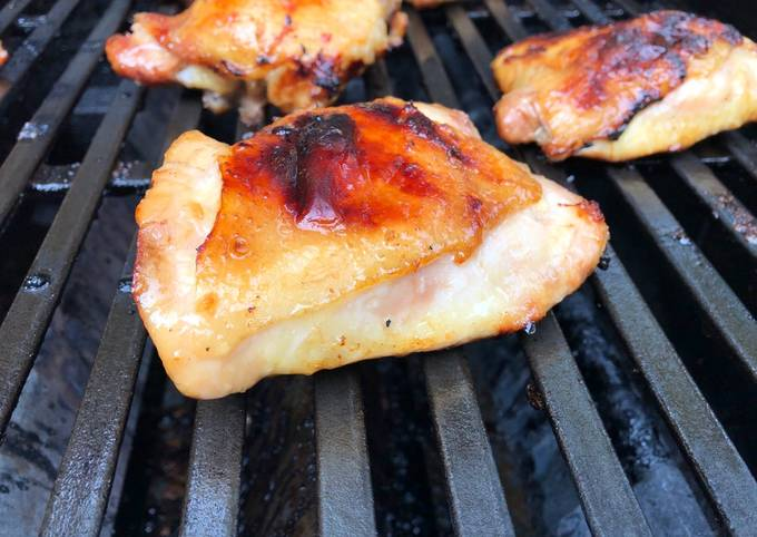 Grilled Maple 🍁 Syrup Chicken 🐔