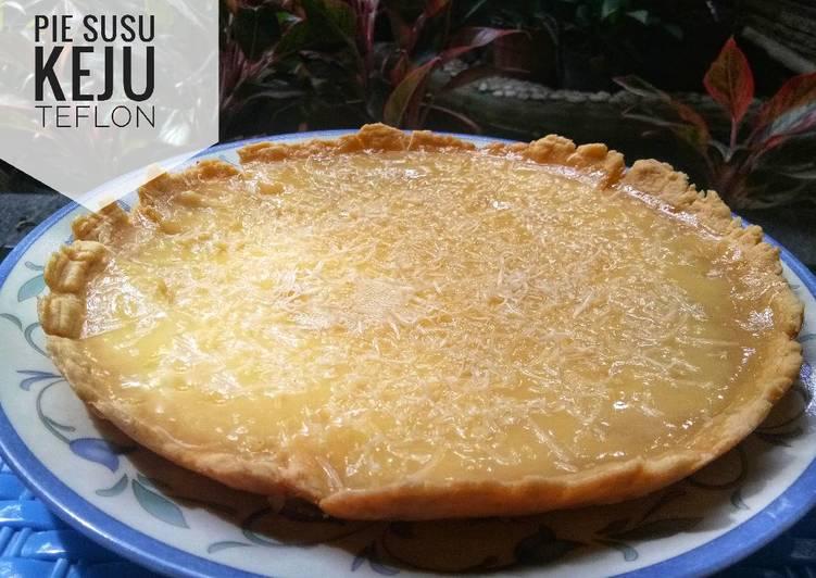 Resep Pie Susu Keju Teflon Oleh Mulia Luthfi Cookpad