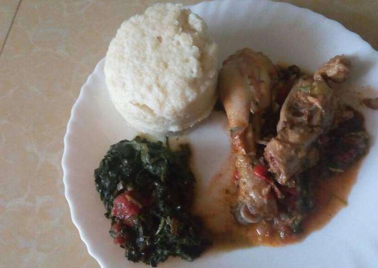 Recipe of Any-night-of-the-week Kuku Kienyeji