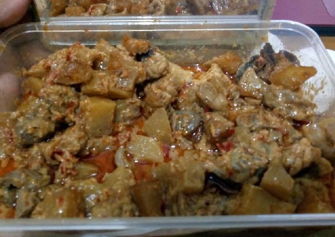 sambal goreng kentang tempe ampela - resepenakbgt.com