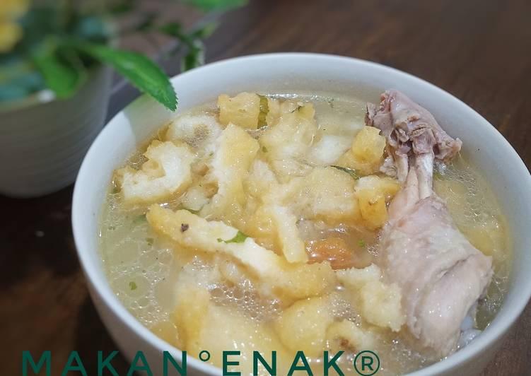 Gelembung ikan (hee pio) / Fish Maw hanya 2 bahan utama ENAK 😘