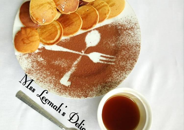 Recipe: Yummy Mini Pancake 🥞