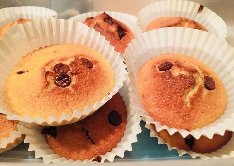 Comment Faire Des Muffins pépites  de chocolat sans gluten