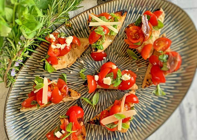 Easiest Way to Make Top-Rated Bruschetta