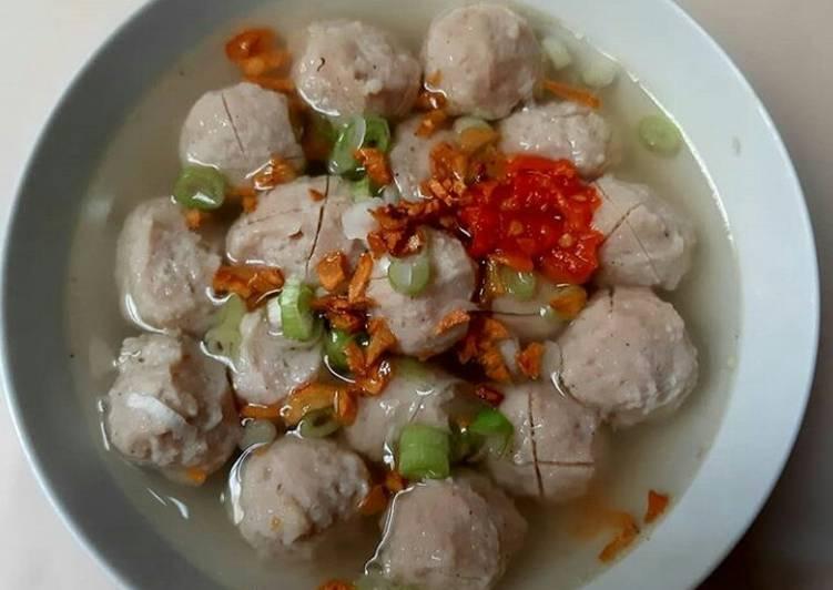 Bagaimana Menyiapkan Bakso Ayam Kenyal Anti Gagal Resep Nusantara