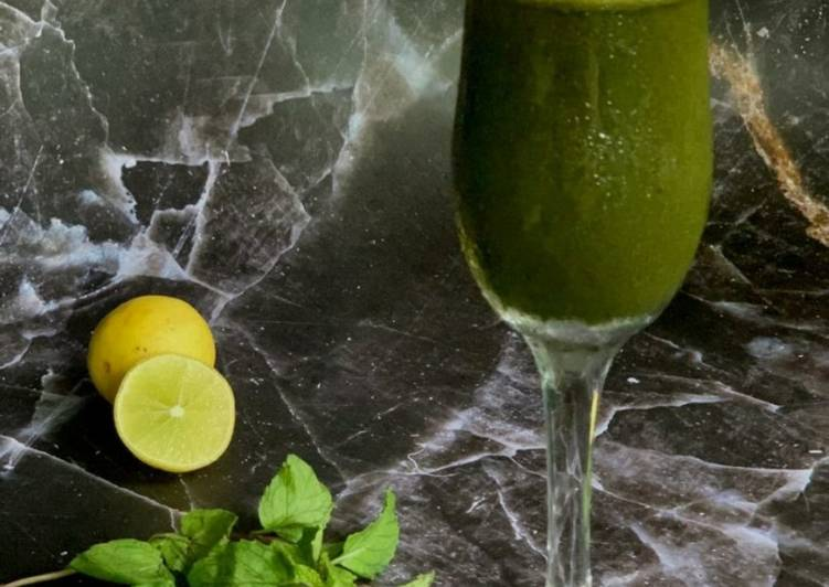 Step-by-Step Guide to Make Mint and Lime juice