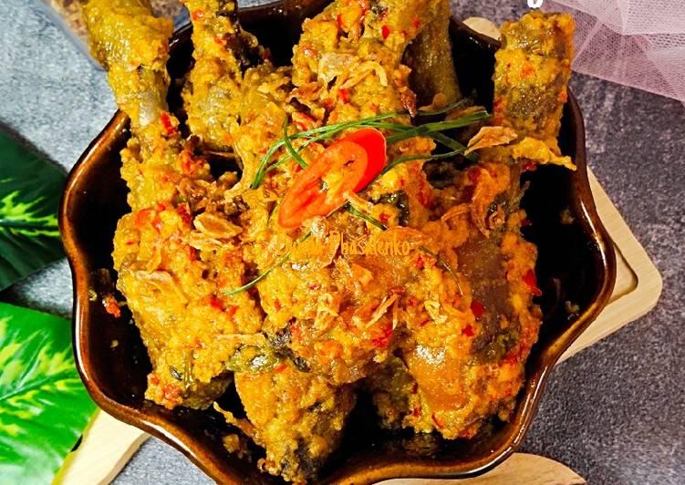 Kari Ayam Kuah Kering - cookandrecipe.com