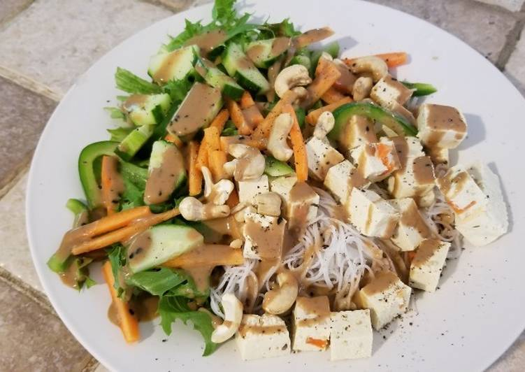 Asian salad (vegan)