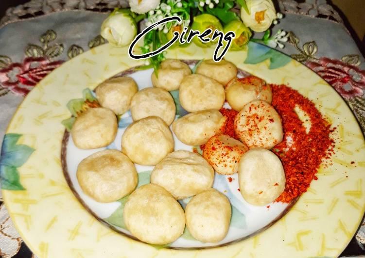 Cireng (Aci digoreng)