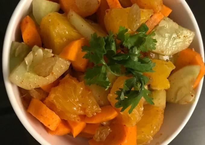 Orange Cucumber Salad