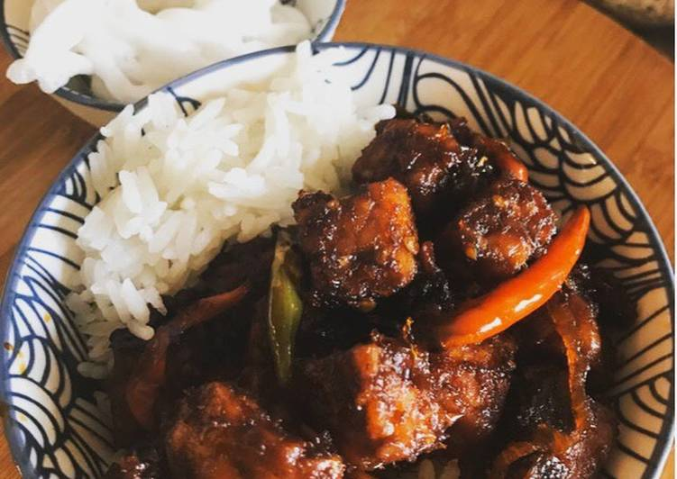Step-by-Step Guide to Prepare Award-winning Indonesian Tempe stir fry - Oseng tempe- Vegan