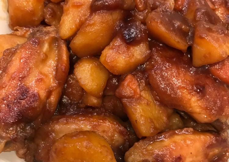 Chicken Wing Stew with Potato