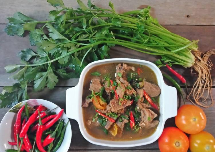 Sup Daging Cinta Hati❤ #marathonramadhan#resepidaging - resepipouler.com