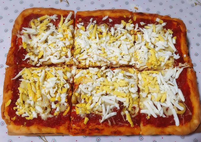 Pizza carrée 🍕