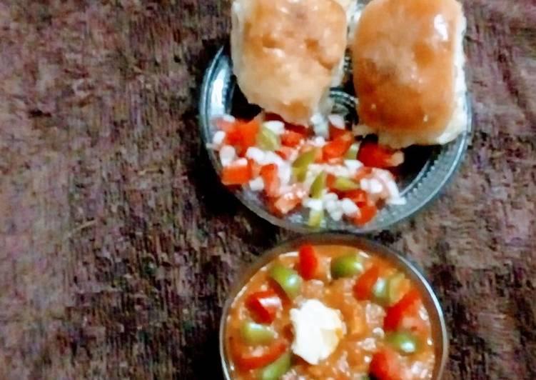 Manual to Make Inviting Butter pav bhaji