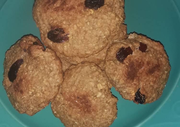 CrispyBanana choco oatmeal cookies