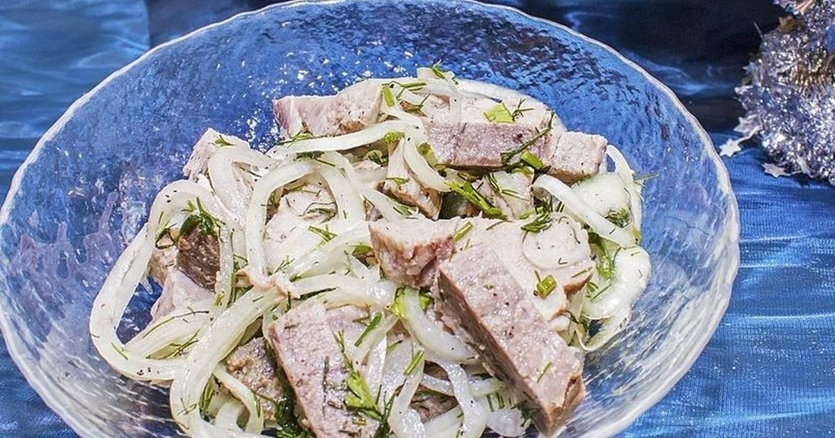 Салаты со свининой рецепты с фото простые актерская