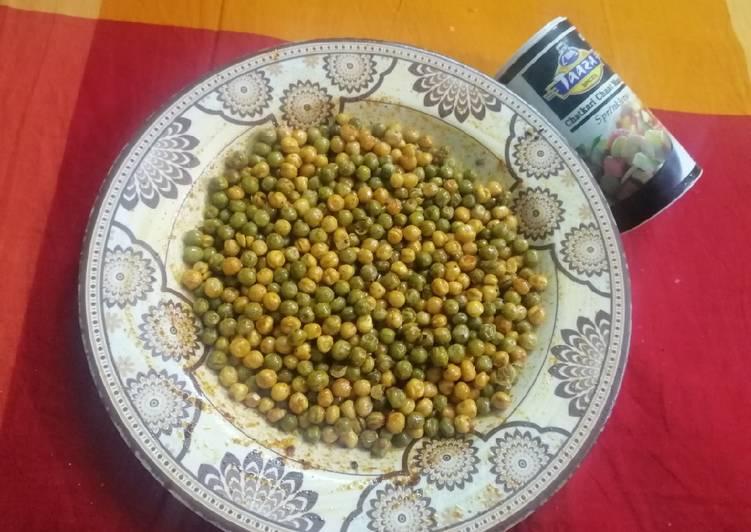 How to Prepare Speedy Fried Mixed Dry Peas