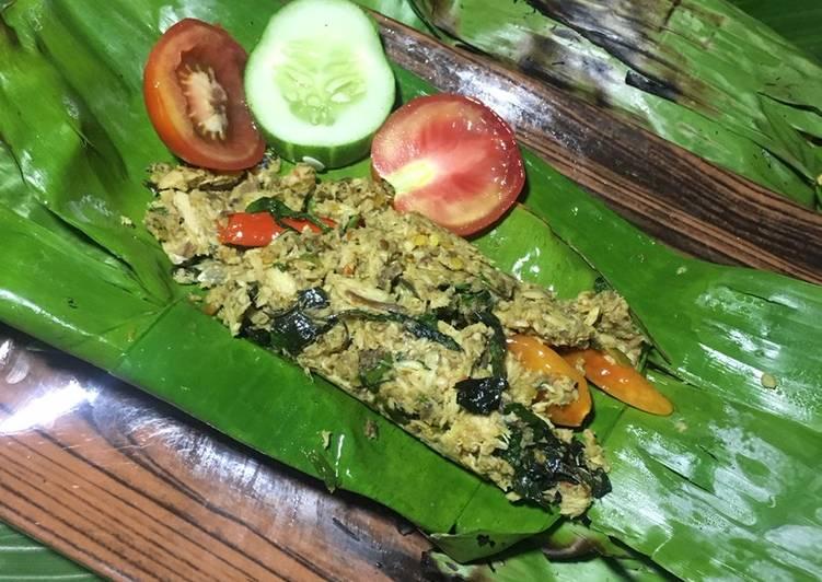 Pepes Pedas Cakalang Kemangi ANTI GAGAL (Bisa untuk isian Nasi Bakar)
