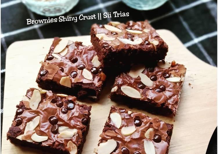 Brownies Shiny Crust Anti Gagal