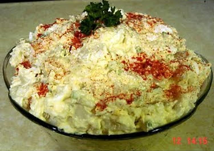 Cold Potato Salad (Funerals)