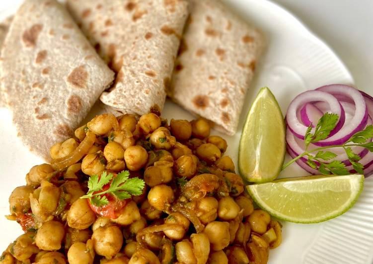 Simple Way to Prepare Favorite Chickpeas Bhuna