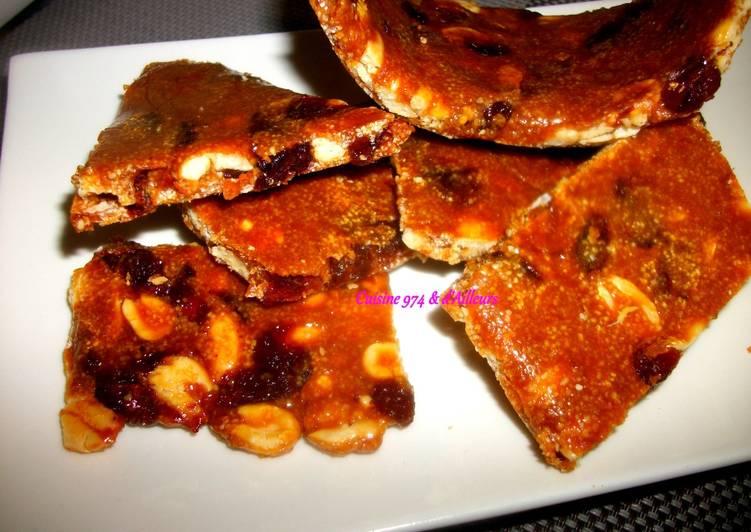 Colle Pistache au Raisins Secs, similaire à la Nougatine