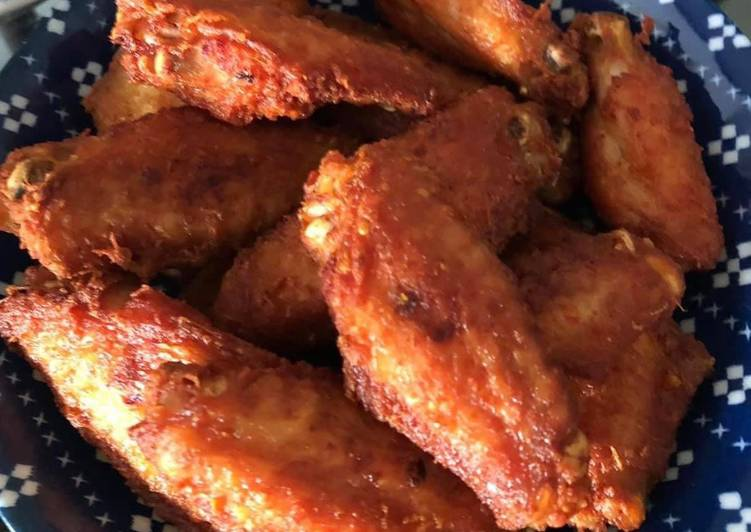 Recipe of Ultimate Fried chicken wings