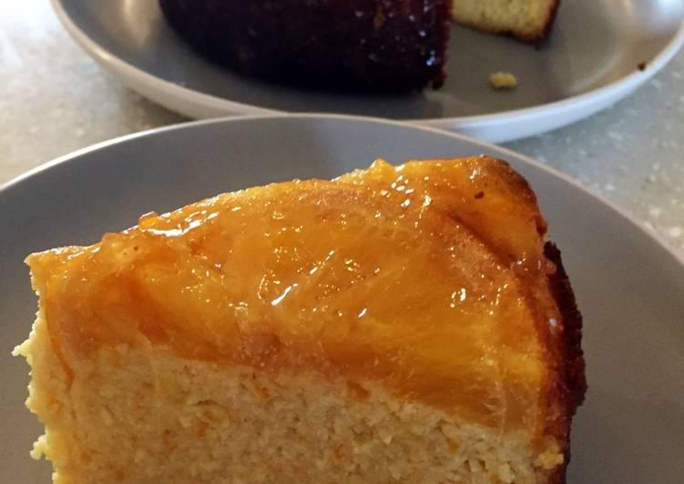 Steps to Make Super Quick Homemade Orange & Almond Cake 🍊