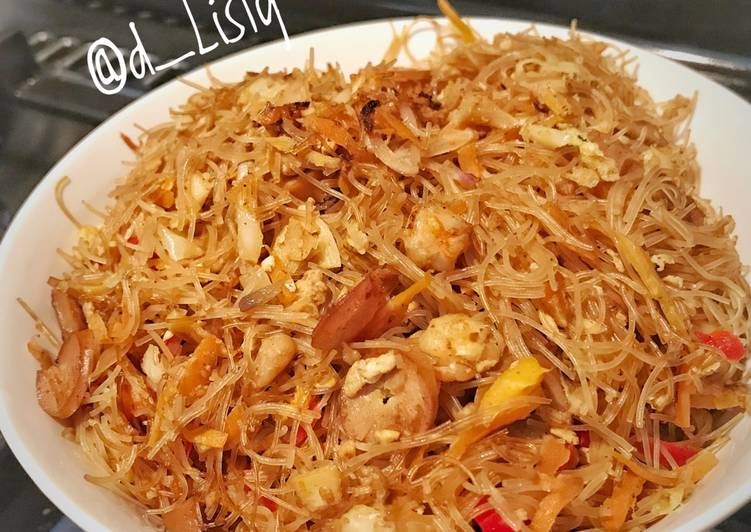 Resep Bihun sosis dan Udang (dapur @d_Listy) #bikinRamadhanBerkesan Bikin Jadi Laper