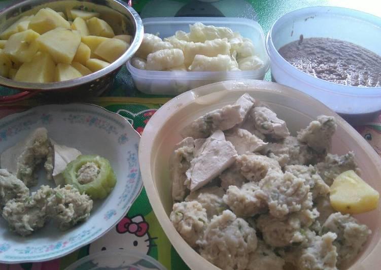 Siomay Tenggiri Komplit - cookandrecipe.com