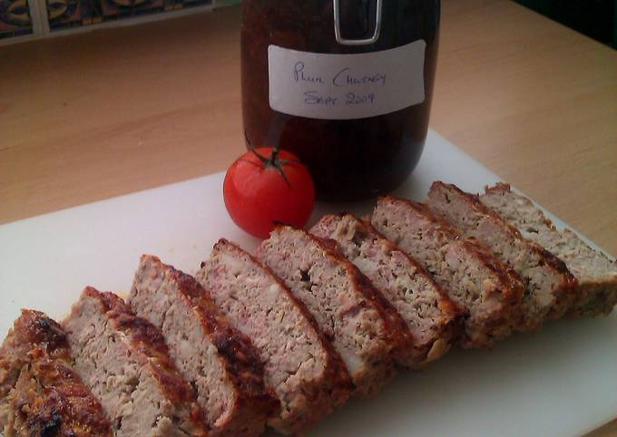 Recipe: Perfect Vickys Pork and Apple Meatloaf GF DF EF SF NF