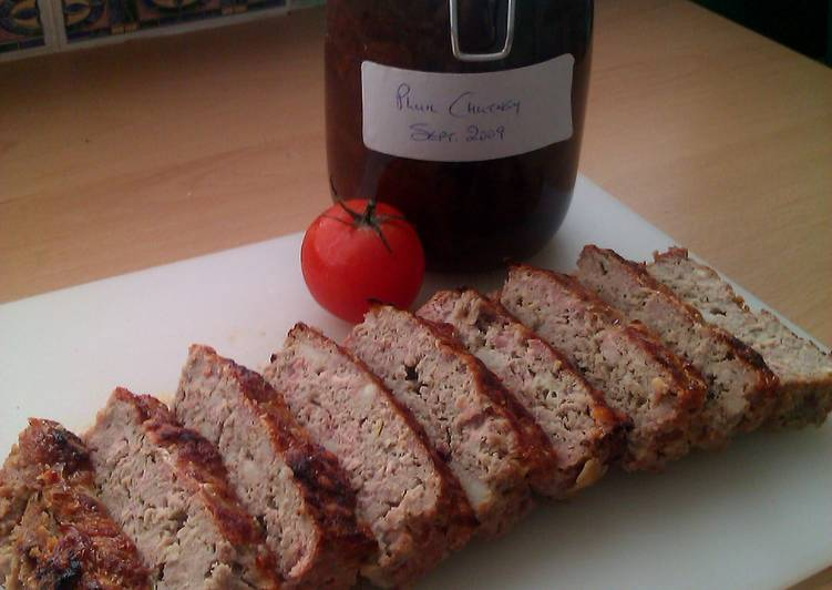 Simple Way to Prepare Award-winning Vickys Pork and Apple Meatloaf GF DF EF SF NF
