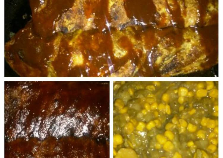 Recipe: Appetizing Bbq Ribs