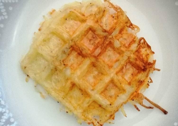 Waffle press hashbrowns