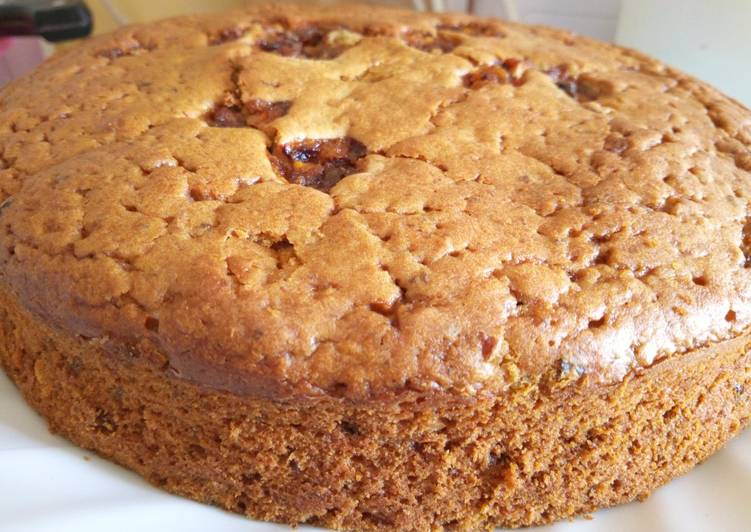 Recipe of Perfect Light Fruit Cake(Without Alcohol)