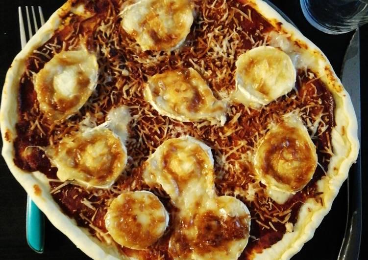 Pizza chèvre - miel