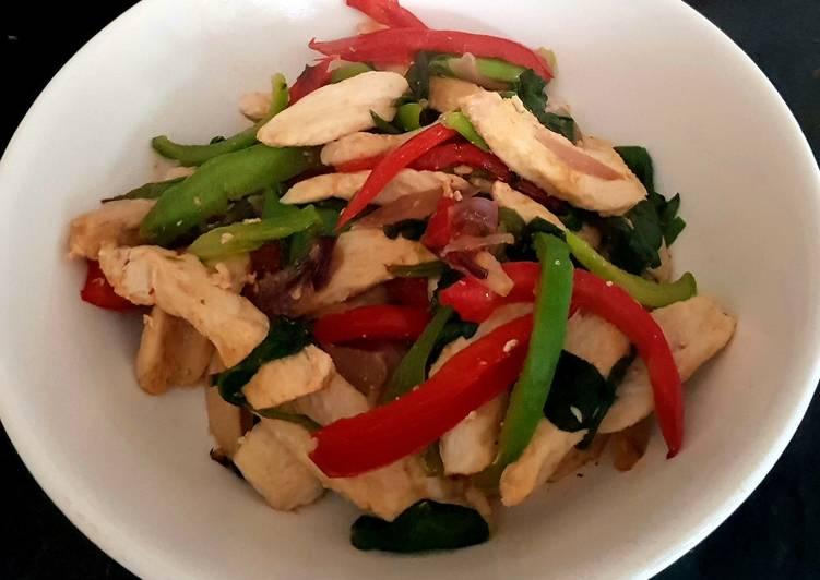 Recipe of Favorite My Chilli Chicken Stirfry