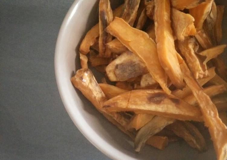 Recette Appétissante Frites de patate douce au four