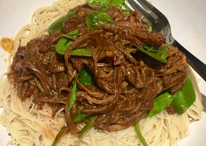 Slow Cooked Asian Spiced Beef Brisket