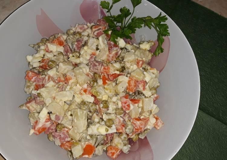 ума салат милана рецепт с фото этого