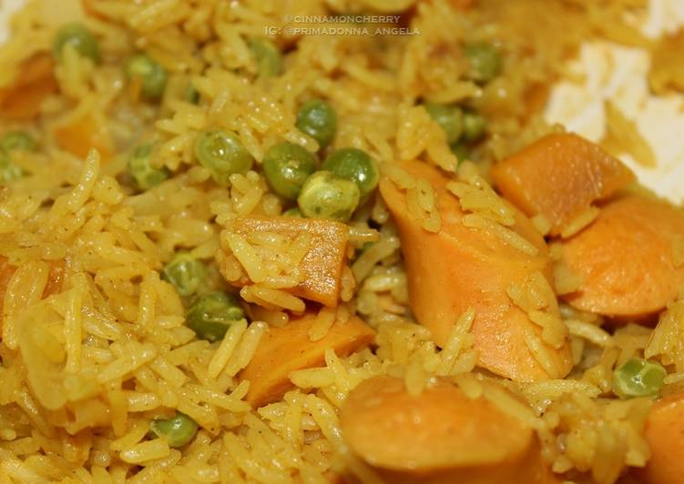 Sweet Curry Rice Choosing Healthy and balanced Fast Food