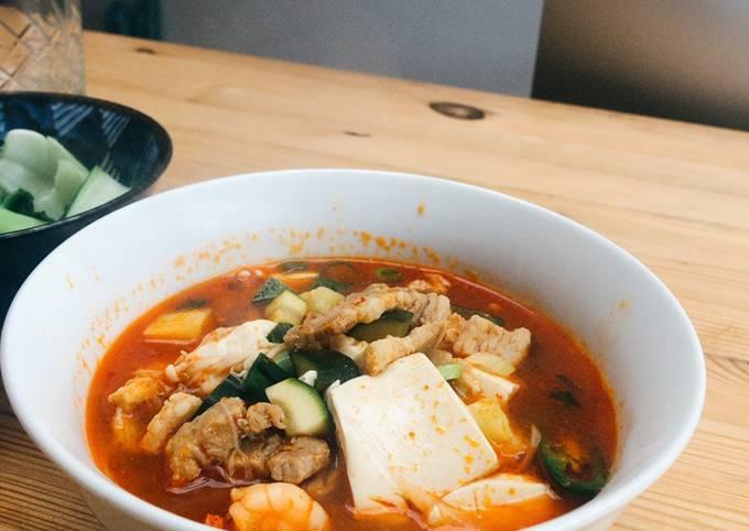 Doenjang-Jigae(Soybean Paste Stew)
