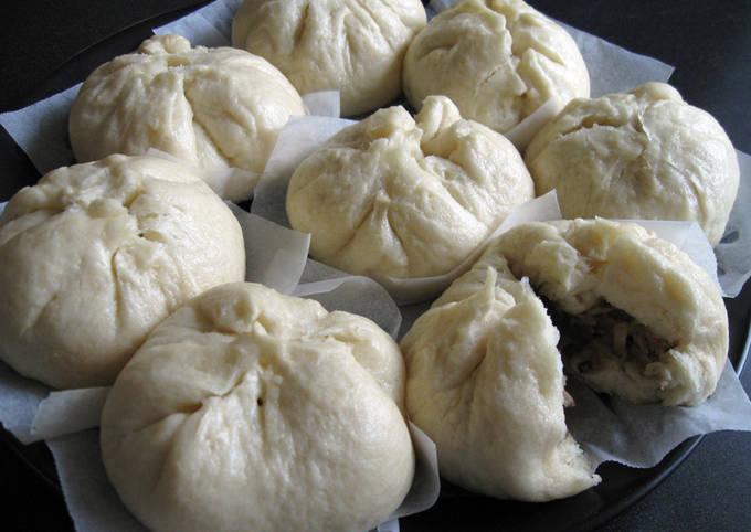 Nikuman (Steamed Pork Buns)