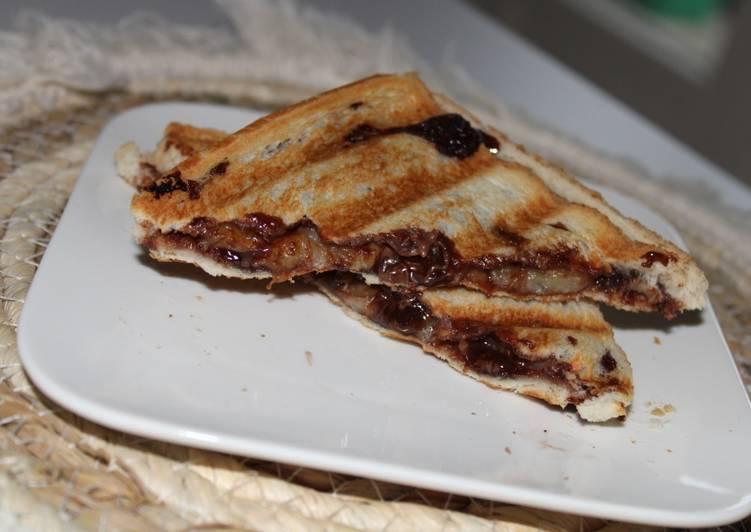 Recette Des Croque banane Nutella