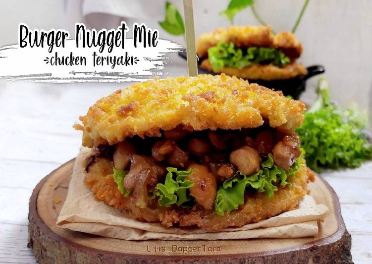 burger-nugget-mie