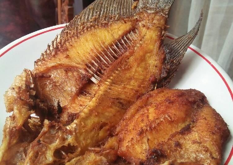 Ikan Gurame Goreng