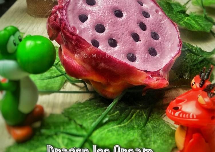 Dragon Ice Cream (Es krim Buah Naga)