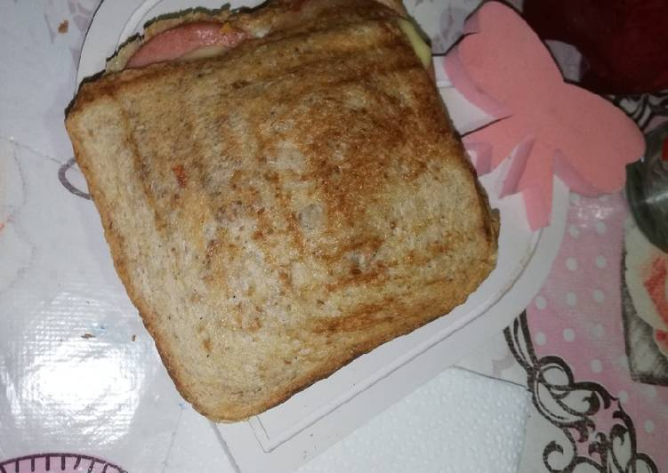 Simple Way to Make Perfect Croque monsieur 😋